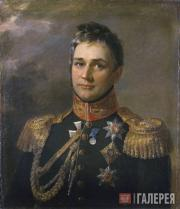 Dawe George. Portrait of Count Mikhail Vorontsov. No later than 1825
