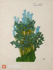 "Golovin Alexander. Design for a plant in the Emperor's garden I, ""The Nighting­a"