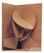 Gabo Naum. Model for constructed head n.3. 1917