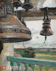 Yakunchikova Maria. View from the Bell Tower of the Savvino-Storozhevsky Monaste