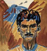 Saryan Martiros. Self-portrait. 1909