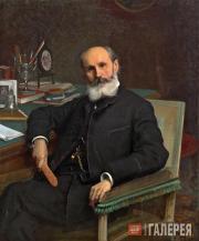 Kramskoi Ivan. Portrait of Pavel Kovalevsky. 1886