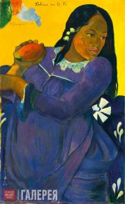 Gauguin Paul. Vahine no te vi (Woman of the Mango). 1892