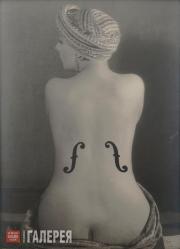 Ray Man (Emmanuel Radnitzky). Le Violon d'Ingres. 1924