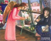 Arshakuni Zaven. Annunciation (I). 1999