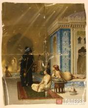 Jean-Léon Gérôme. Pool in a Harem. 1876