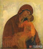 Nesterov Mikhail. Holy Mother of God Eleusa. 1909
