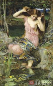 John William WATERHOUSE. Lamia. 1909