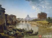 Shchedrin Sylvester. New Rome. View of the Castel Sant'Angelo. 1824