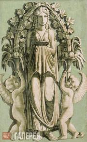 Scotti Giovanni Battista (Ivan Karlovich). Female figure with two cupids