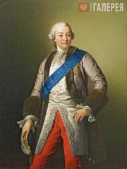 Khudyakov Vasily. Portrait of Ivan Shuvalov, President of the Academy of Arts. 1