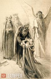 Ghe Nikolai. Repentant Sinner. 1886