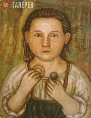 Yefim CHESTNYAKOV. Portrait of Galina Alexandrovna Smirnova, Chestnyakov's Niece