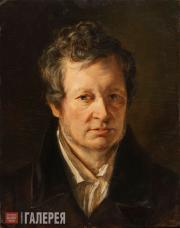 Kiprensky Orest. Portrait of Alexei Tomilov. 1828