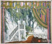 Golovin Alexander. Balcony in the Castle