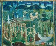 Golovin Alexander. Garden (2nd angle). Scene 11