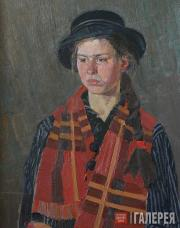 Borovskoi Nikolai. Youth. Katya. 1980