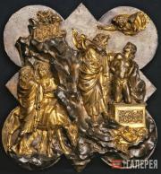 Лоренцо Гиберти (1378/1381–1455). Жертвоприношение Исаака. 1401