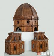 Filippo Brunelleschi.  Wooden Model of the Dome of Florence Cathedral
