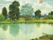 Shmarinov Alexei. Willow upon the Pond. 2006