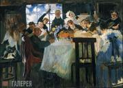 Sapunov Nikolai. Tavern (with the window). 1912