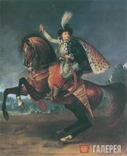 Antoine-Jean Gros. Prince B.N.Yusupov on Horseback. 1809