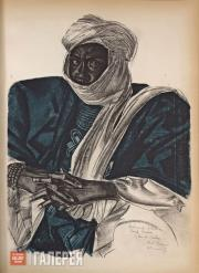"""Jacovleff Alexandre. From album """"Drawings and Paintings of Africa, Created Durin"""