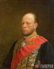 Ghe Nikolai. Portrait of the Minister of Finance Mikhail Reitern. 1873
