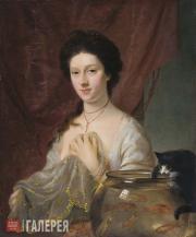 NATHANIEL HONE. Kitty Fisher. 1765