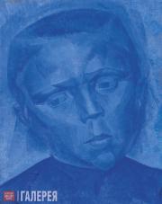 Yelena Evenbach (1889-1981). Head of a Boy. 1920