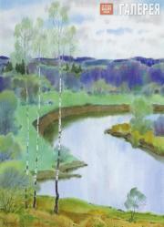 Shmarinov Alexei. Spring. A Green Day. 2004