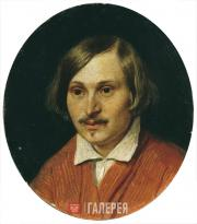 Ivanov Alexander. Portrait of Nikolai Gogol. 1841