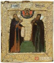 Venerable Dimitriy and Ignatiy. Last third of the 17th century