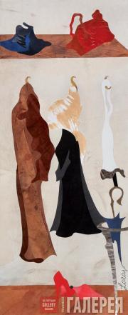 Verhovsky Lora. Coat Rack. 2003