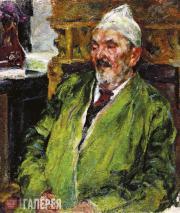 Urmanche Baky. Portrait of Sangatullah Bickbulatov. 1927