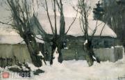 Sapunov Nikolai. Winter. 1900
