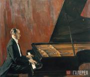 Korin Pavel. Portrait of Konstantin Igumnov. 1941-1943