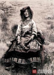 Юан КВИНЛУ. Пастушка, готовящая зимние травы. 2000