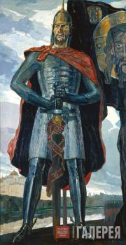Korin Pavel. Alexander Nevsky. 1942