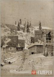 Levitan Isaaс. A Village
