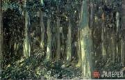 Golovin Alexander. Night Forest. 1910s