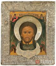 The Holy Face. The Saviour Not-Made-By-Human-Hands. Second half of the 17th cent