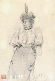 Golovin Alexander. Portrait of Golovin-Kotova