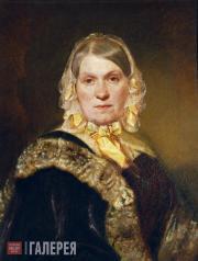 Портрет Н.А. Постниковой. 1845