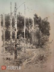 Levitan Isaaс. Trail in a Forest