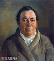 Ghe Nikolai. Portrait of Osip Ge. 1855