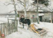 Korovin Konstantin. In Winter. 1894