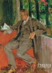 Korovin Konstantin. Portrait of Fyodor Shaliapin. 1905