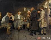 Repin Ilya. Soldier's Tale. 1877