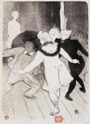 Toulouse-Lautrec Henri. Folies-Bergères: Les Pudeurs de Monsieur Prudhomme. 1893